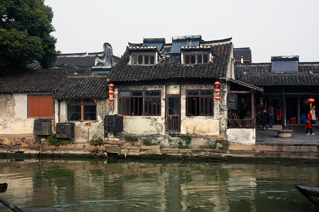 Xitang House on River